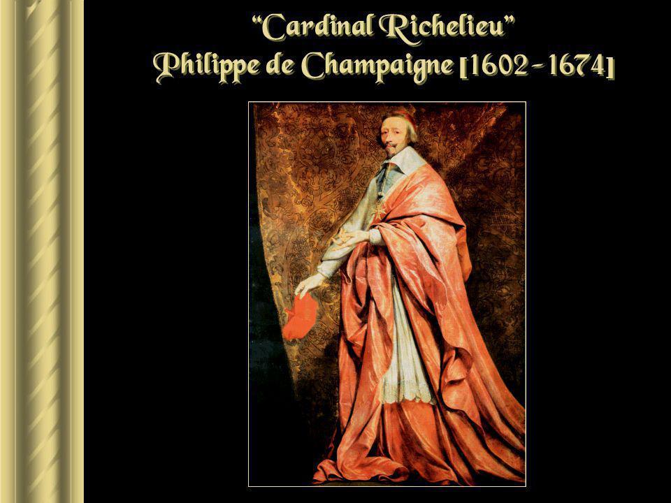 Cardinal Richelieu Philippe de Champaigne [1602-1674]